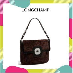 Longchamp Calf Hair Shoulder Bag